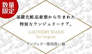 ランジェリー洗い