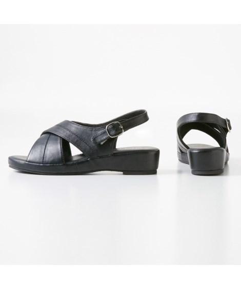靴(シューズ) 超軽量オフィスサンダル(低反発中敷)(ワイズ4E) 23.0~24.5cm ニッセン nissen