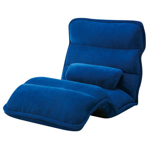 42段階省スペースギア全身もこもこ座椅子