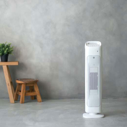 人感センサー付スリムタワーヒーター