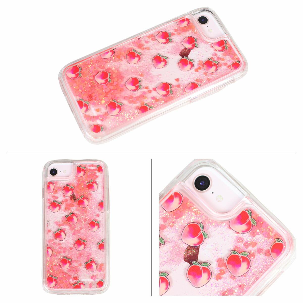 detailed look 94599 f9730 Velvet Caviar PEACH IPHONE CASE velvet caviar iPhone8 iPhone7 8 Plus 7Plus  6s six cases smartphone iPhone case eyephone iPhone velvet Lady's pink ...
