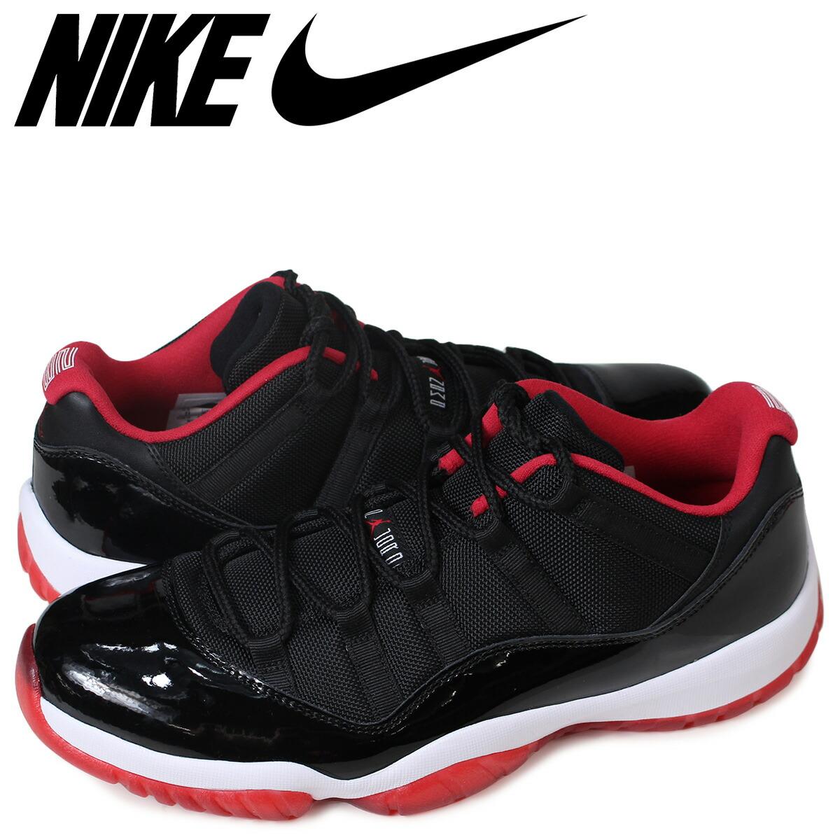 the best attitude c993e 462e8 NIKE AIR JORDAN 11 RETRO LOW Nike Air Jordan 11 nostalgic sneakers  528,895-012 black [185]
