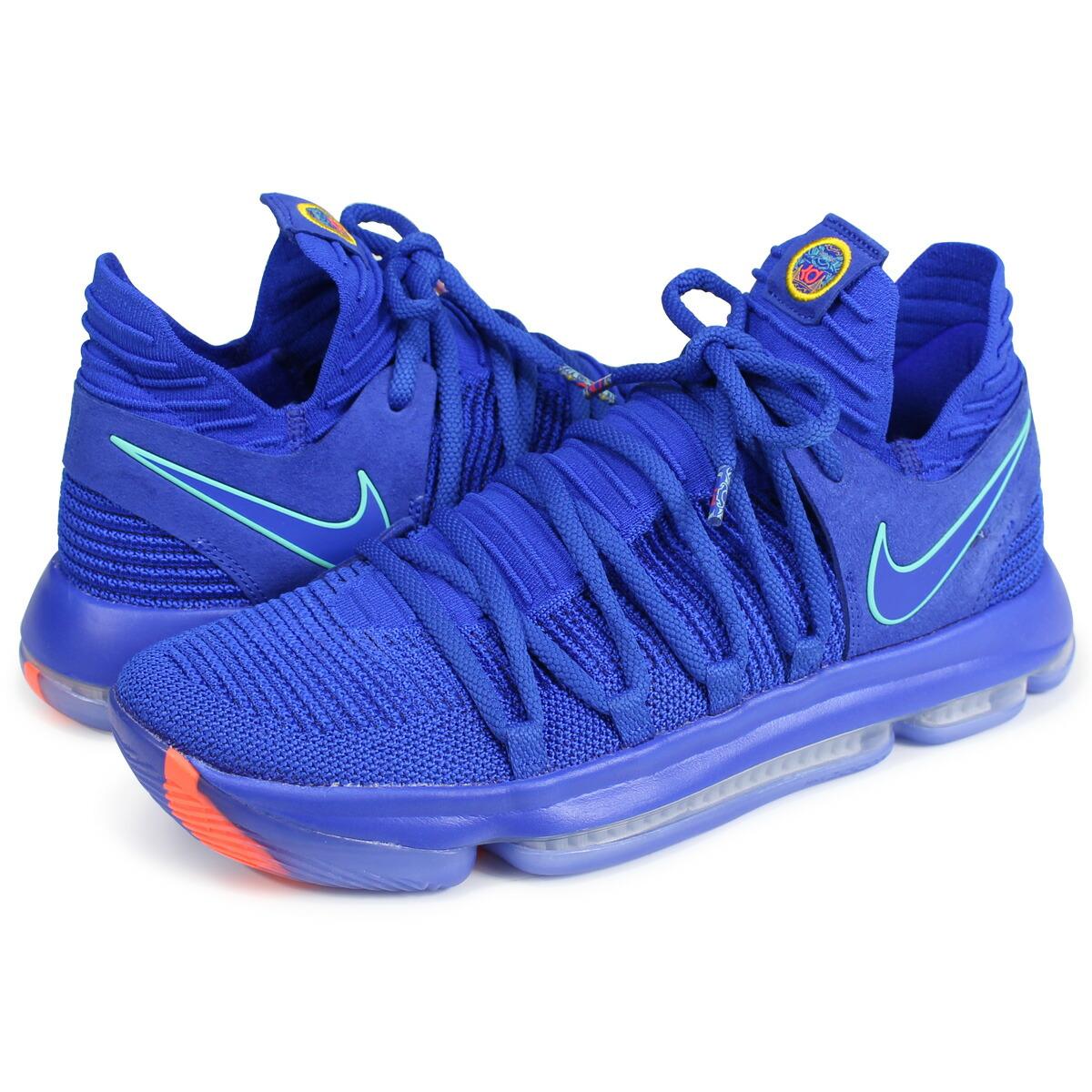 newest 2cf80 de716 NIKE ZOOM KD 10 Nike KD 10 sneakers men 897,816-402 Kevin Durant blue [187]