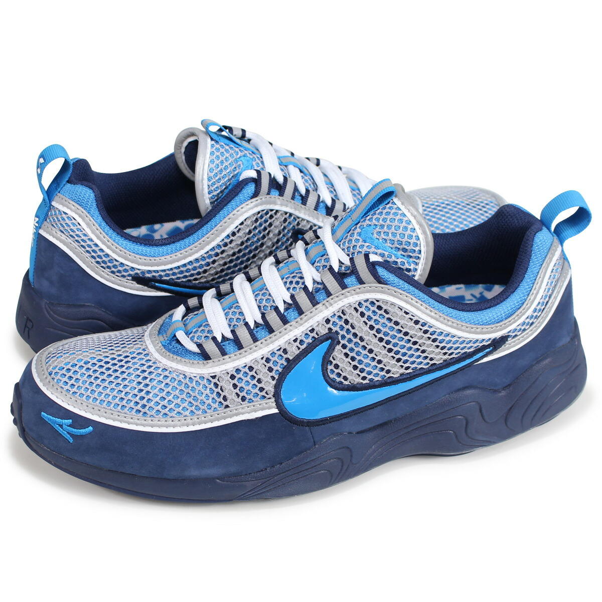 NIKE AIR ZOOM SPIRIDON 16 STASH Nike air zoom pyridone sneakers men AH7973 400 navy