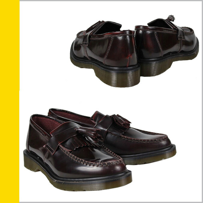 c935bb64557 ALLSPORTS  Dr. Martens Dr.Martens tassel loafer R14573601 ADRIAN smooth  leather mens Womens BURGUNDY