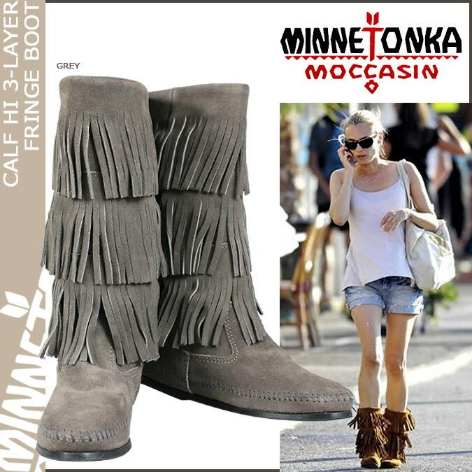 ALLSPORTS | Rakuten Global Market: Minnetonka MINNETONKA calf Hi 3 ...