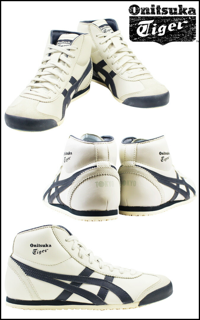 separation shoes e1f1c ad046 Onitsuka Tiger MEXICO MID RUNNER Onitsuka tiger Mexico mid runner men  sneakers DL328-1659 THL328-1659 white [193]