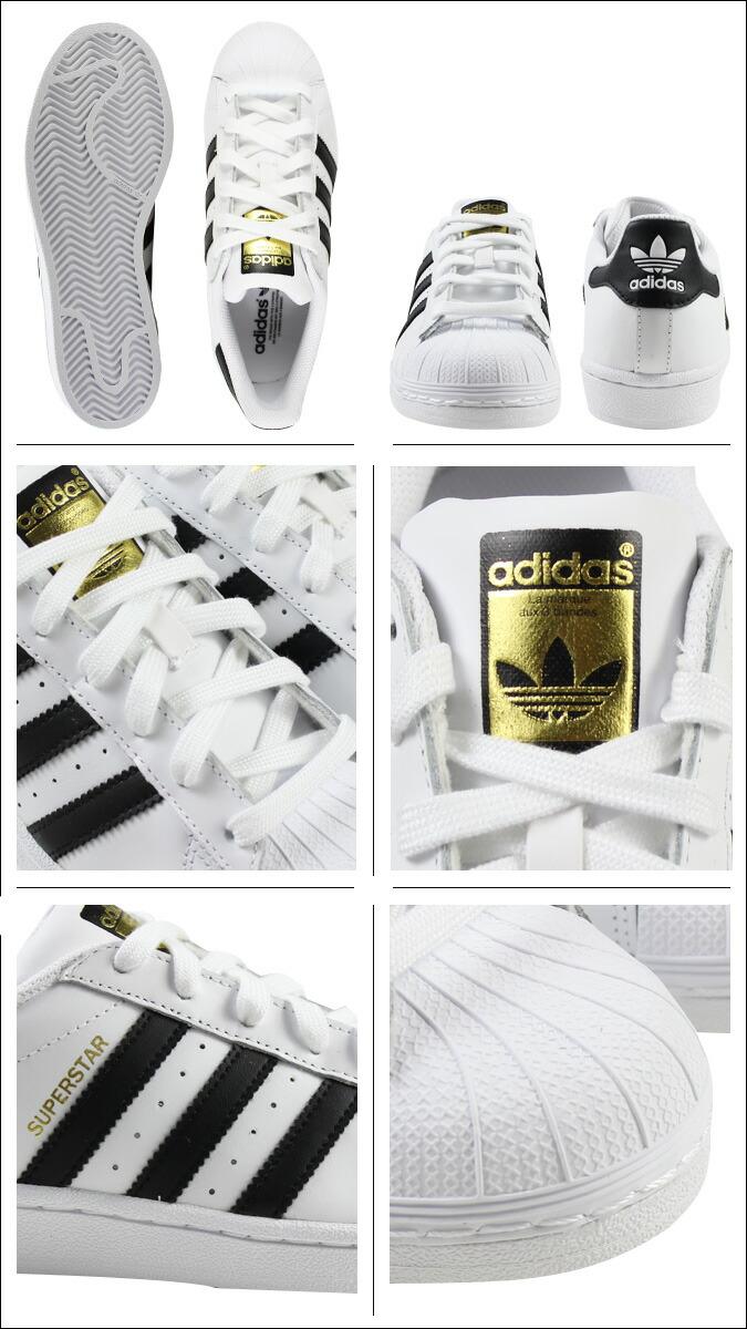 Adidas Superstar Negro Y Mujer Blanca Talla 7 6QrTj