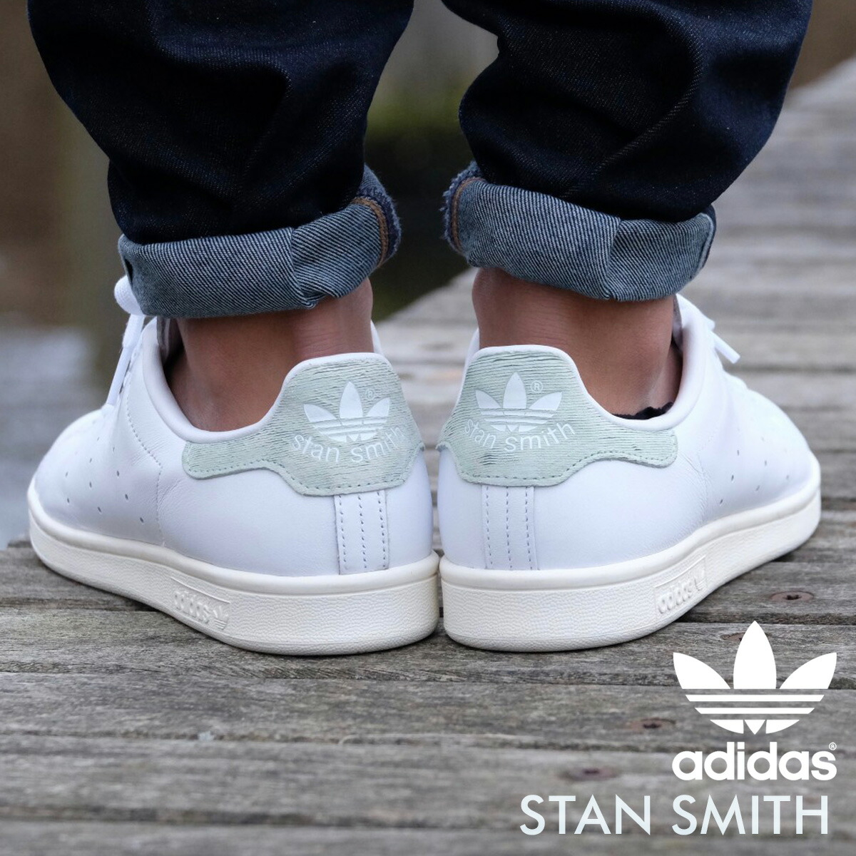 competitive price a9e30 c4e8f adidas Stan Smith Adidas originals sneakers STAN SMITH Lady's men BB5047  shoes white [7/21 Shinnyu load] [177]
