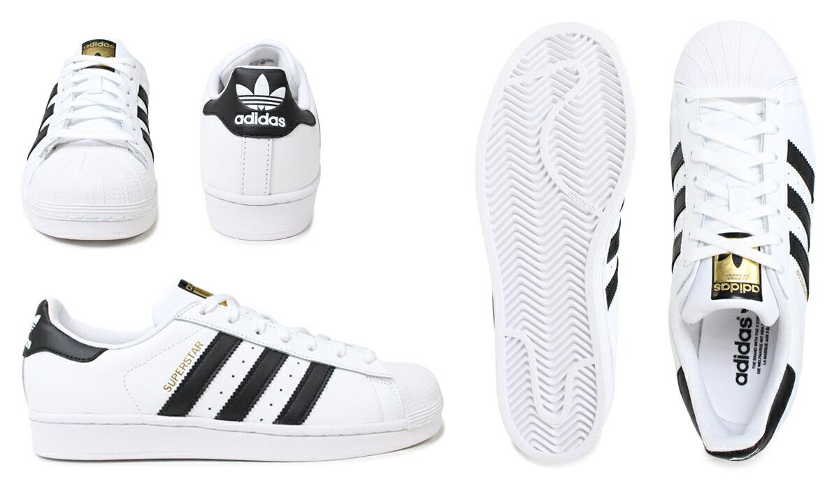 quality design 0a54e 27c52 adidas Originals Adidas originals superstar women sneakers Lady's SUPERSTAR  W C77153 shoes white black [8/9 reentry load] [198]