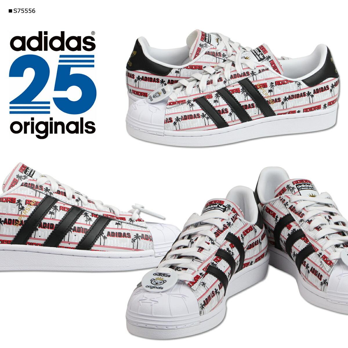 Adidas Superstar Nigo Bearfoot chaussures noir blanc