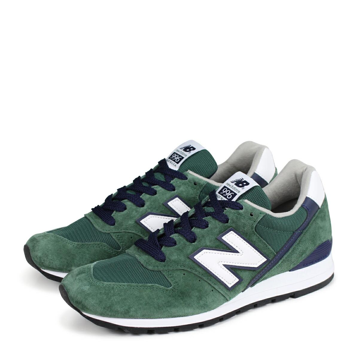 pretty nice 4bcb7 1e494 new balance 996 New Balance sneakers USA M996CSL D Wise men gap Dis shoes  green [186]