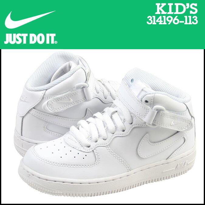 14678337ec1c ALLSPORTS  Nike NIKE kids   AIR FORCE 1 MID PS sneakers air force 1 ...