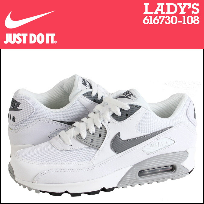 af9a981e1d nike air max 90 essential leather white black cool grey .