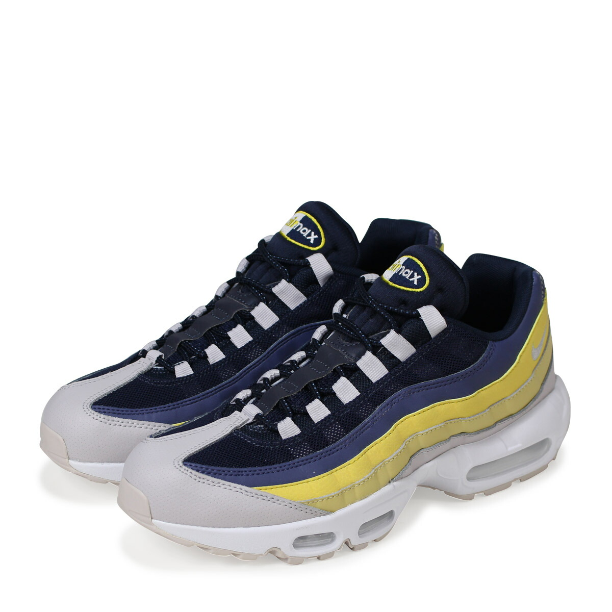 competitive price 41e14 5a7ae NIKE AIR MAX 95 ESSENTIAL Kie Ney AMAX 95 essential sneakers men 749,766-107  white load planned Shinnyu load in reservation product 423 containing  184