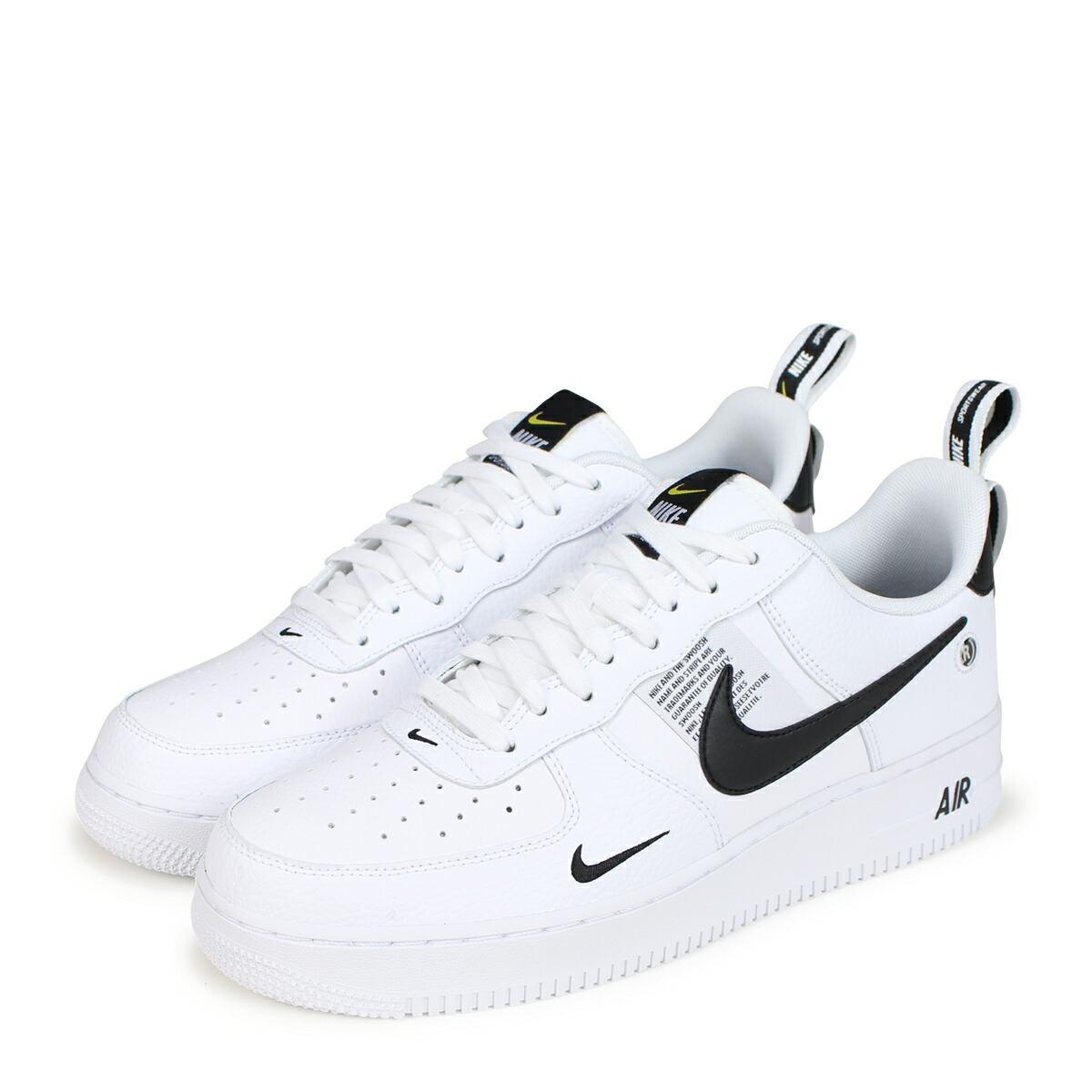 NIKE AIR FORCE 1 07 LV8 UTILITY Nike air force 1 sneakers men AJ7747 100 white