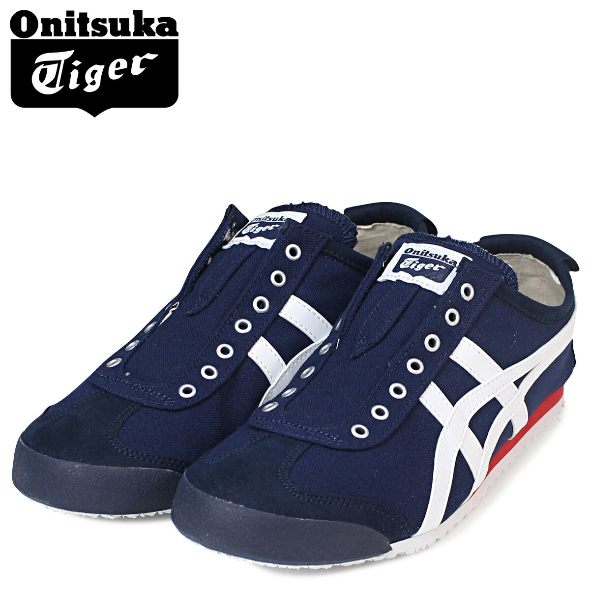 allsports onitsuka tiger asics onitsuka tiger asics mexico 66 slip on sneakers mexico 66 slip. Black Bedroom Furniture Sets. Home Design Ideas
