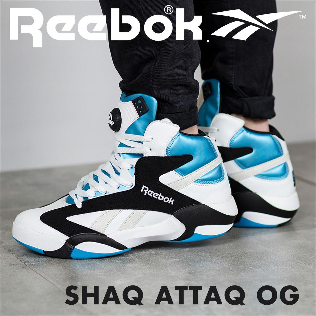 65ea42617d1a ALLSPORTS  Reebok SHAQ ATTAQ OG shack attack sneakers Reebok V47195 ...