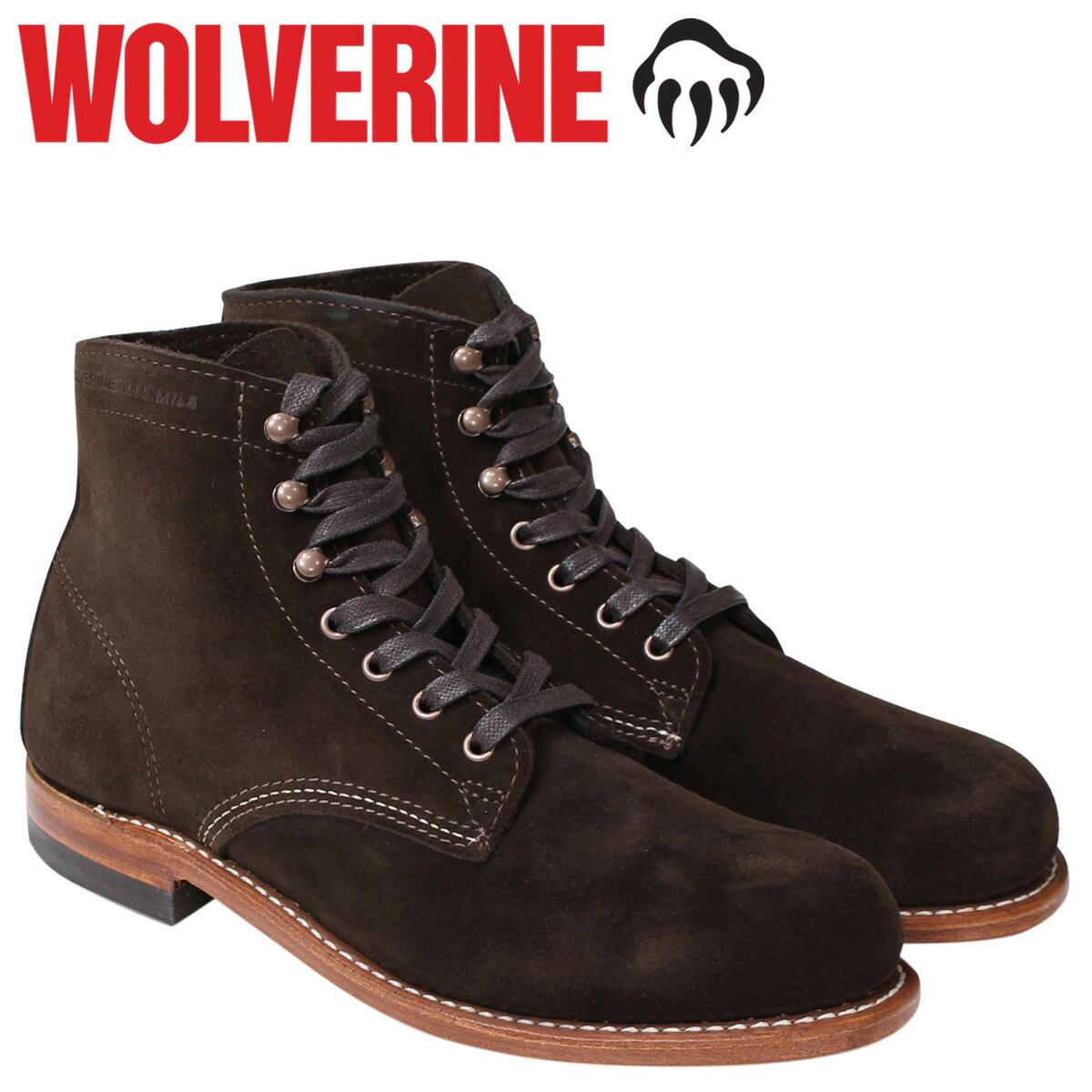 85c0be2796d WOLVERINE ウルヴァリン  1883年創業のアメリカはオハイオ州のアウトドアシューズ、ワークシューズの老舗ブランド。今の社名になったのは1912年です。1908年に誕生した ...