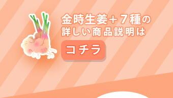 金時生姜+7種類の詳しい商品説明はこちら