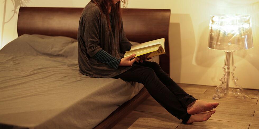 elvard ベッド ロータイプ