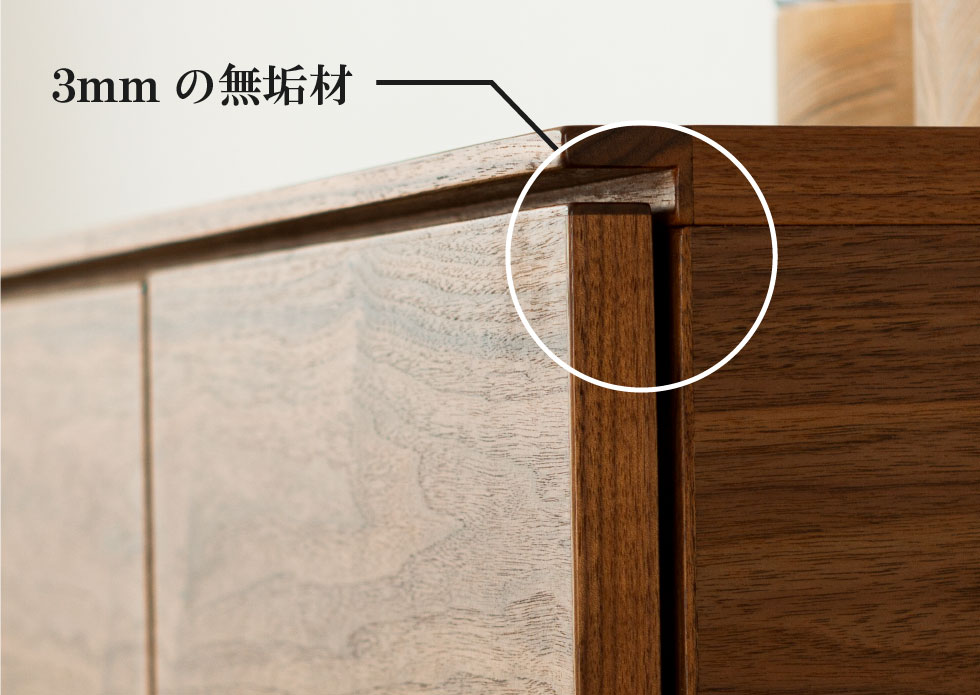 家具 角の補強