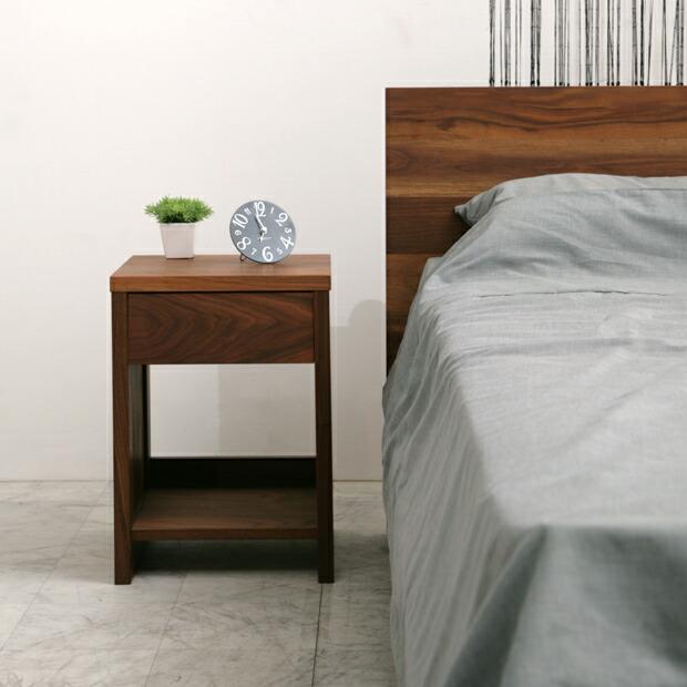 ナイトテーブル ベッドサイド ジール