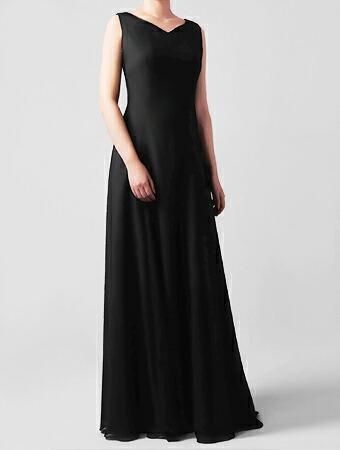 演奏会用ブラックドレス