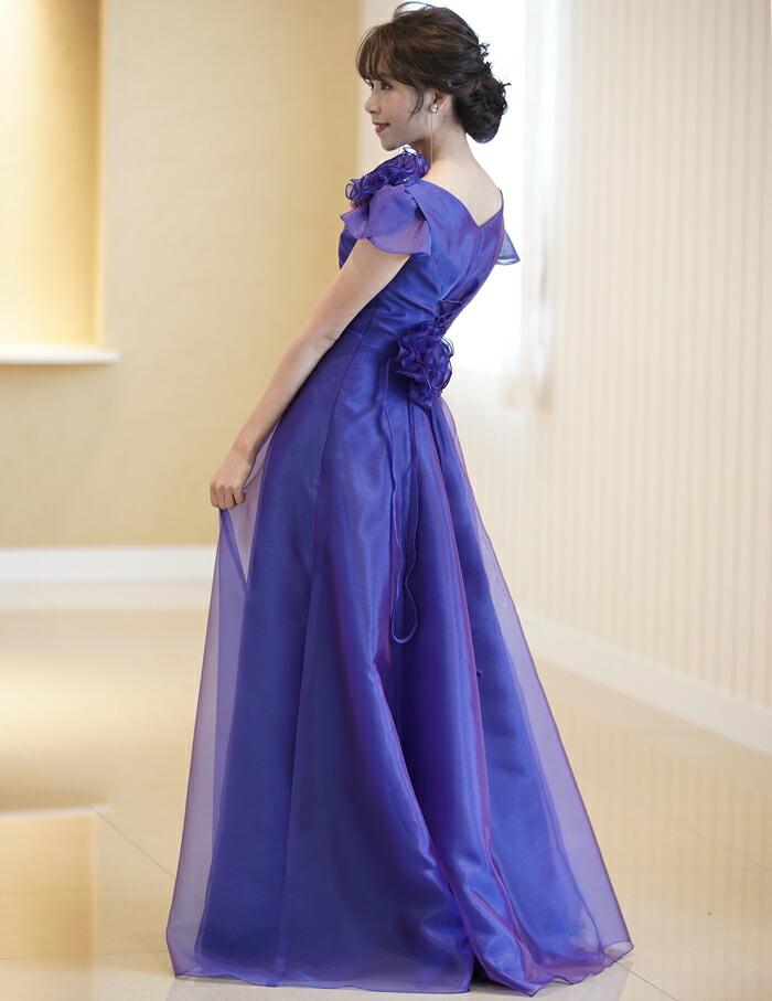 ステージ衣装に最適なオーガンジーの 2WAY ドレス