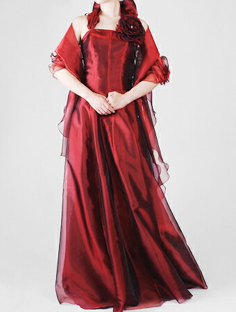 ホルターネック式の衣装
