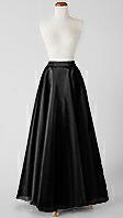 オーガンジーの全円形スカート