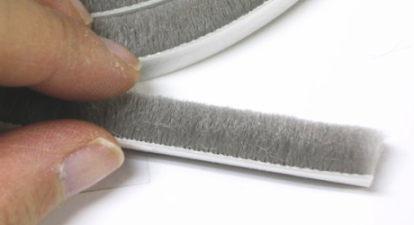 モヘアタイプシール材 ドアや引戸のすき間に ホコリ 風を防ぐ
