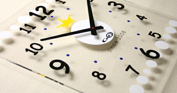 GHOアクリル時計