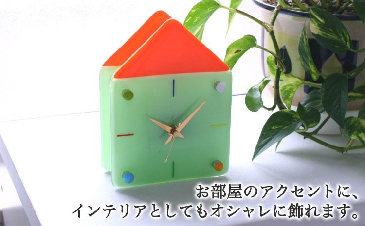 GHOガラスの置き時計