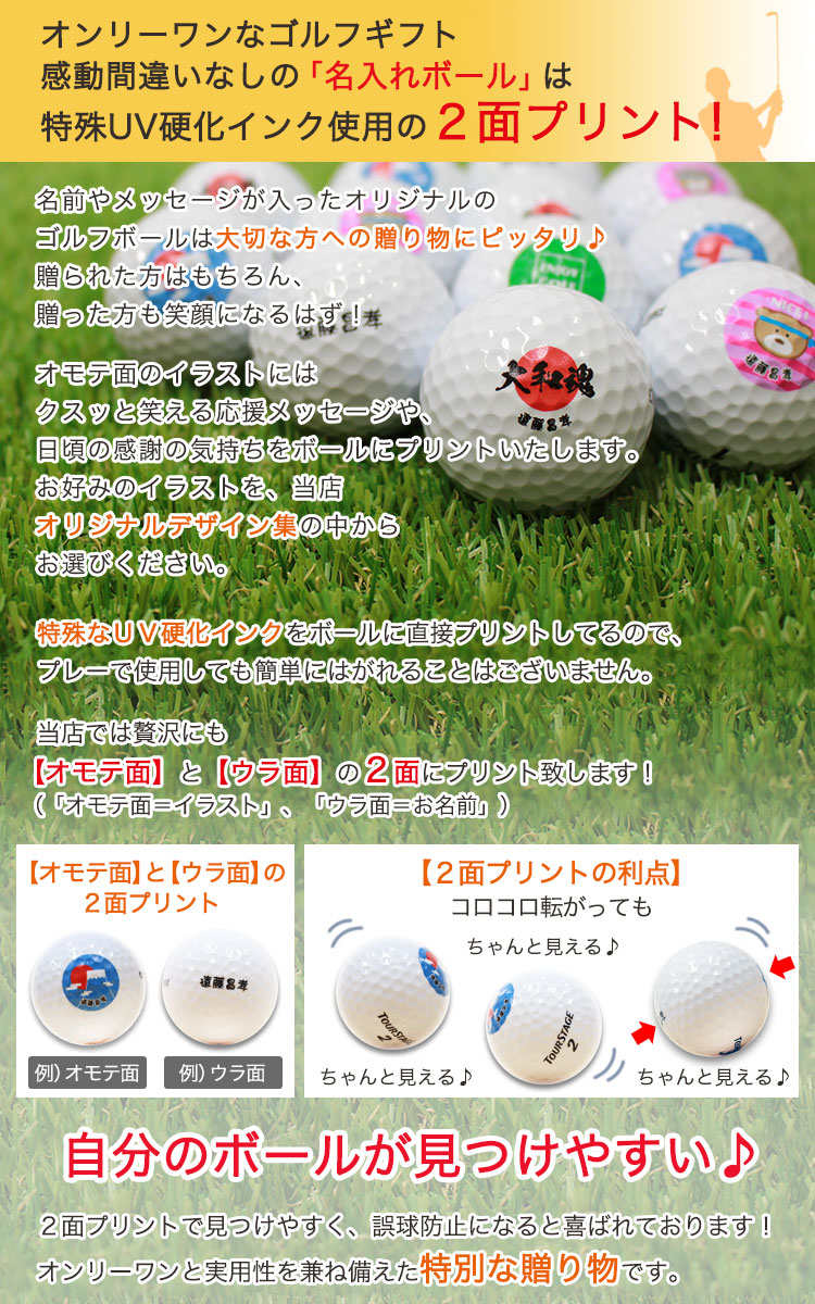ゴルフボール詳細