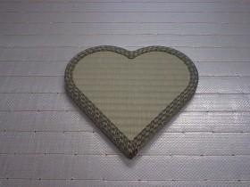 ハート型畳