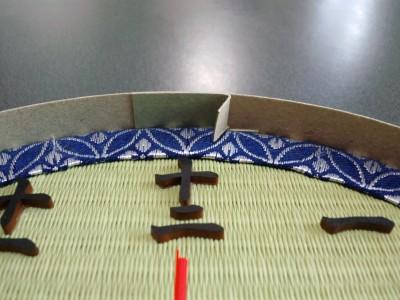 畳の時計の枠とつめ