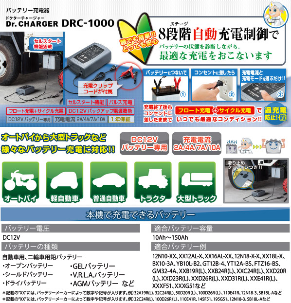 Dr.CHARGER DRC-1000