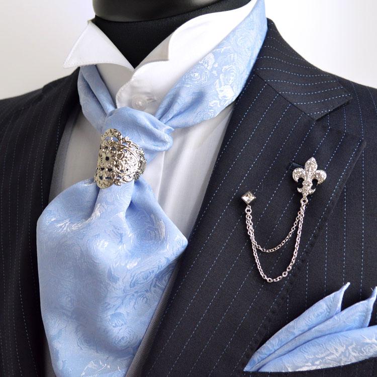 1595c34e94d49 ストールタイプも、結婚式のゲストや新郎様、パーティーの装いなどにピッタリです。また、普段のネクタイをアスコットタイにするだけで、ラグジュアリーな装いになる  ...