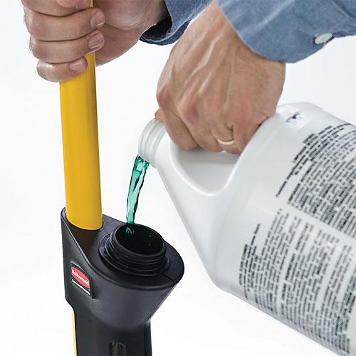 ラバーメイド PULSE(パルス)洗剤タンク付モップセット(専用フレーム、バッド2枚付) 1835528