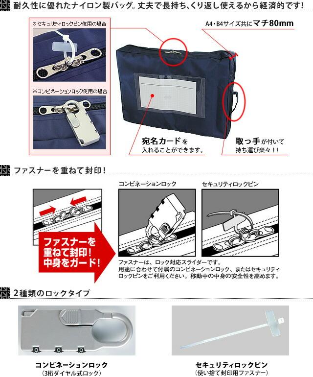 耐久性に優れたナイロン性バッグ