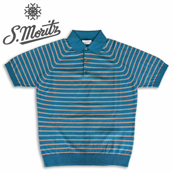 30216a9a6ae6f 2019.5.24 UP! サンモリッツ【伊製ポロシャツ】 着心地の良さが違う、一流メゾンのポロシャツ。何シーズンも愛用できるベーシックなデザイン。