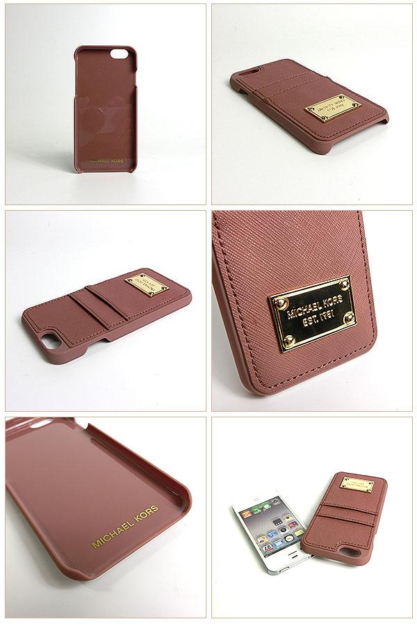 buy online 924b1 1def2 michael kors saffiano leather pocket smartphone case medium leigh ...