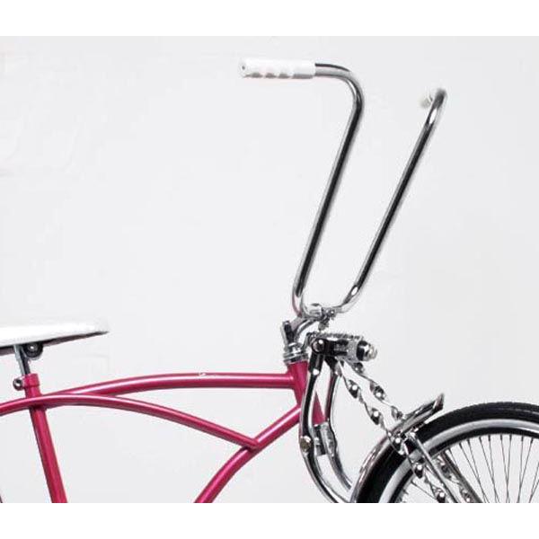 自転車 ハンドル 15インチ 高さ38cm ハンドルバー