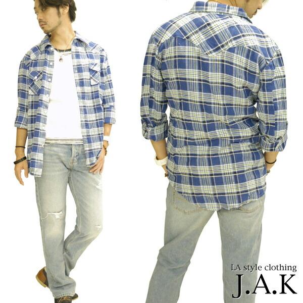 【お買い物マラソン】  JAK メンズ シャツ