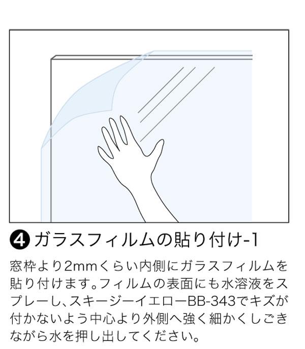ガラスフィルムの施工方法5
