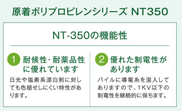 NT350の機能性について