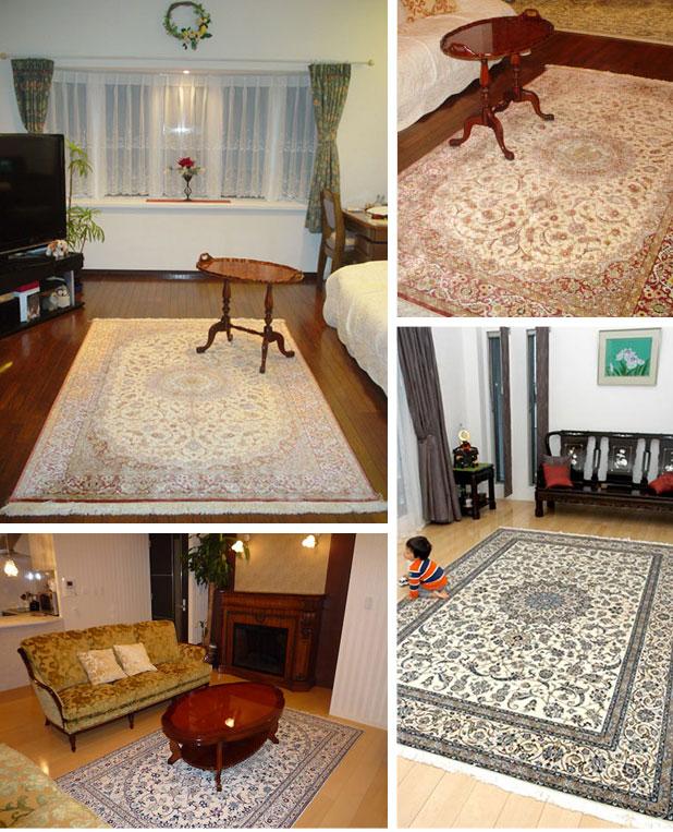 ペルシャ絨毯イメージ写真