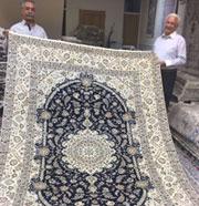 ハビビアン氏とペルシャ絨毯