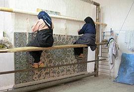 ペルシャ絨毯の話~絨毯を織る人